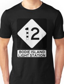 NC 12 - Bodie Island Light Station Unisex T-Shirt