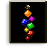 The Jewels of Om Canvas Print