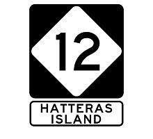 NC 12 - Hatteras Island Photographic Print