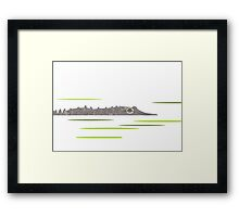 Watcher in the Water Framed Print