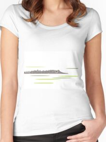Watcher in the Water Women's Fitted Scoop T-Shirt