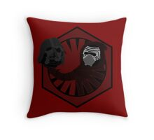 Alas, Poor Vader! Throw Pillow