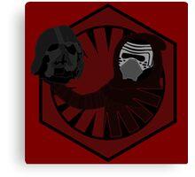 Alas, Poor Vader! Canvas Print