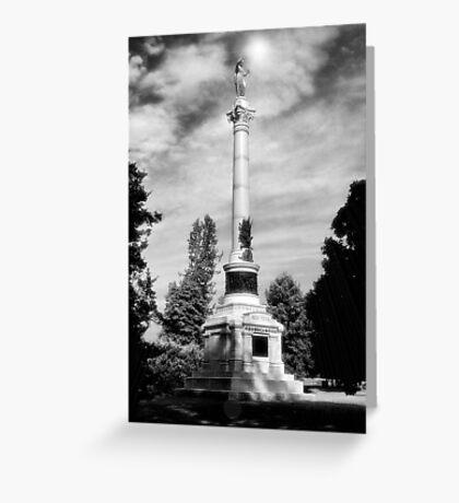 NY Civil War Monument Greeting Card