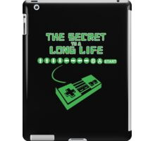 The Secret To A Long Life... iPad Case/Skin