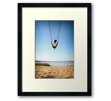 Summer Swing - Havilland Beach Framed Print
