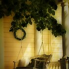 Memories, the Front Porch Swing by Barbara  Brown