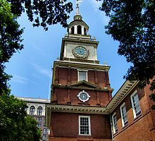 Independence Hall by InvictusPhotog