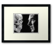 To be, or not to be... Hamlet Version I Framed Print