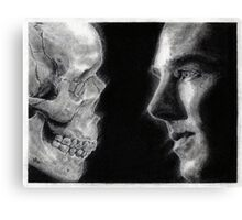 To be, or not to be... Hamlet Version I Canvas Print
