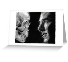 To be, or not to be... Hamlet Version I Greeting Card