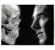 To be, or not to be... Hamlet Version I Photographic Print