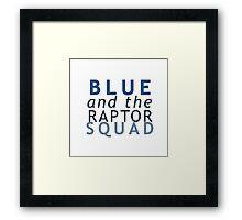 Blue the Raptor - Jurassic World Framed Print