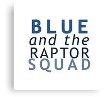 Blue the Raptor - Jurassic World Canvas Print
