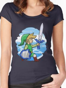 Link, The Hero of Winds || Wind Waker Women's Fitted Scoop T-Shirt