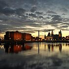 Salthouse Dock by Steve  Wallace