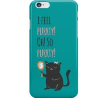 Catty Thoughts! iPhone Case/Skin