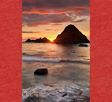 Shoreline Sunset Tri-blend T-Shirt