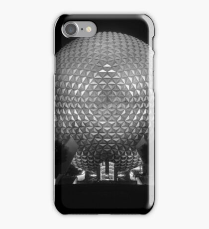 The Tones of Spaceship Earth iPhone Case/Skin