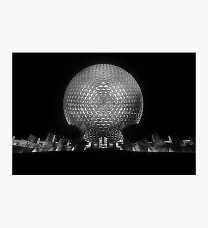 The Tones of Spaceship Earth Photographic Print