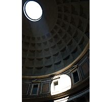 Inside the Pantheon Photographic Print