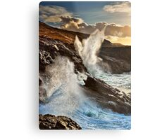 The Blow Hole Metal Print