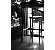 Cafe Trash Photographic Print