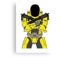 Daft Halo Canvas Print