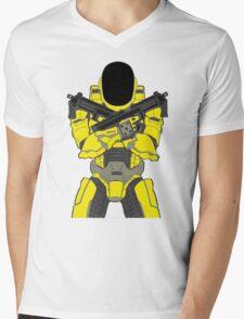 Daft Halo Mens V-Neck T-Shirt