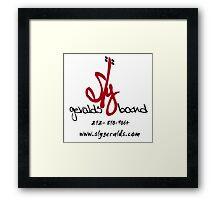 Sly Geralds Band Logo Framed Print