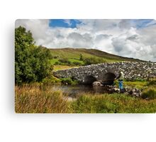 The Quiet Man Bridge Canvas Print