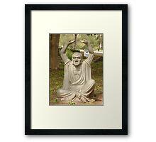 part of yoga Framed Print