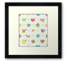 Happy tea Framed Print