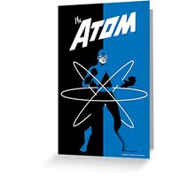 THE ATOM Greeting Card