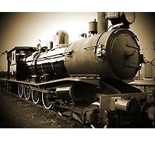 Steam Train in Queenscliff Photographic Print