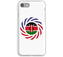 Kenyan American Multinational Patriot Flag Series iPhone Case/Skin