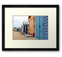 Expensive Real Estate! Framed Print