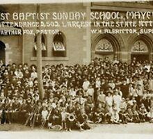 First Baptist Sunday School, Mayfield, KY Sept. 30, 1923 by West Kentucky Genealogy