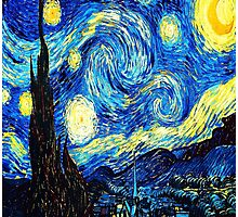 Starry Night - Vincent Van Gogh Photographic Print