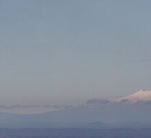 Mount Ruapehu by enamour