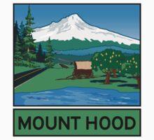 Oregon Scenic Byway - Mount Hood One Piece - Long Sleeve
