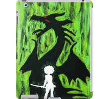 A Girl and Her Dragon iPad Case/Skin