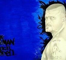 the iceman chuck liddell by christopher cerda
