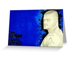 the iceman chuck liddell Greeting Card