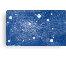 Social Web Canvas Print