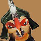 bird face by Soxy Fleming