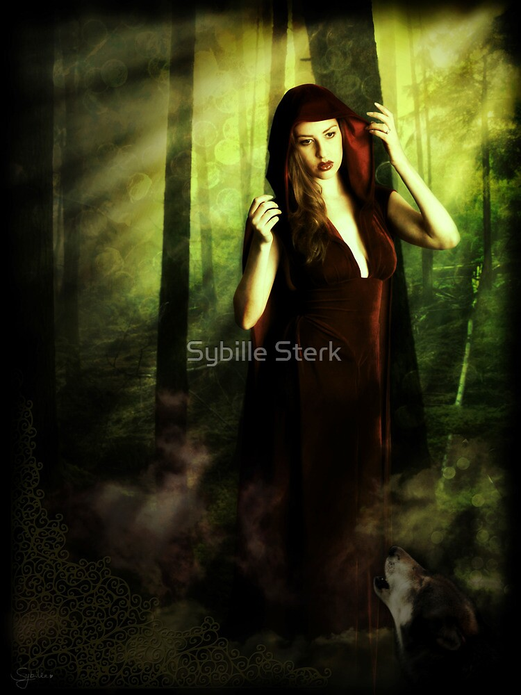 (Not so) Little Red Riding Hood by Sybille Sterk