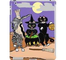 Happy Yowl-o-ween iPad Case/Skin