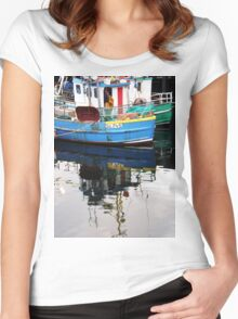 Burtonport Dungloe Co. Donegal Ireland Women's Fitted Scoop T-Shirt