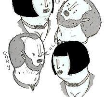 Mongoloids by Ben Cresswell